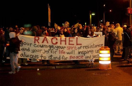 Muerte de Rachel Corrie