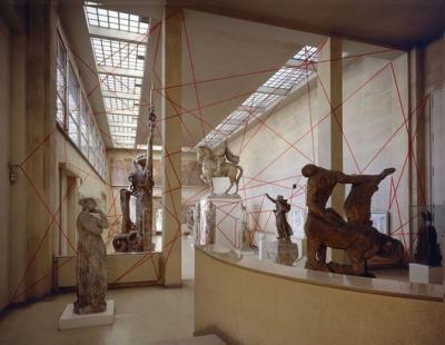Felice Varini y la misteriosa segunda dimensión de la arquitectura