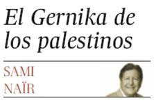 EL GERNIKA DE LOS PALESTINOS.